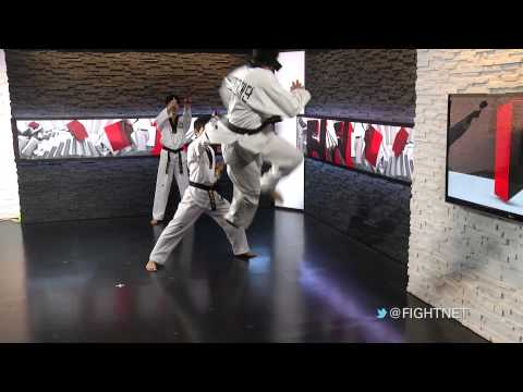 Korean Taekwondo Diplomacy Foundation Demonstration at Fight Network