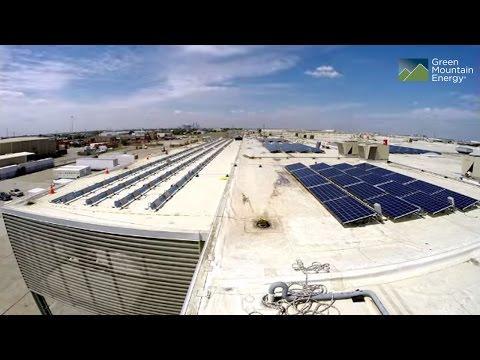 Houston Food Bank Solar Installation