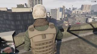Destroying amateurs who tried to kill me  (Gta 5 online gameplay)