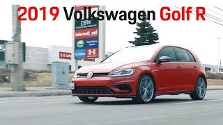 """2019 VW Golf R Review - Battle of the """"R""""s [4K] 1/4"""