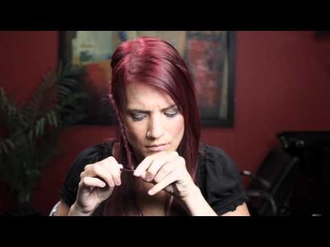 How To Do Your Own Updo - Braided Flower