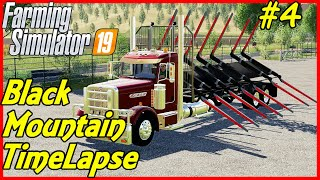 FS19 Timelapse, Black Mountain #4: Juggling Machinery Leases!