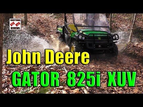John Deere Gator 825i XUV OFF-ROAD Test Review: The Comp: Polaris Ranger-Brutus. Honda Pioneer. RTV