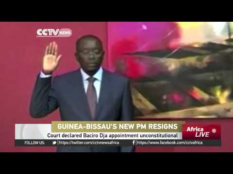 Guinea-Bissau's New Prime Minister Resigns