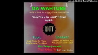 2DTT-Knowledge-Ust Jaleel Aromire