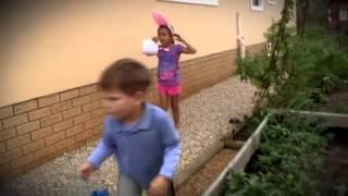 Easter Egg Hunt in Barbie's Garden