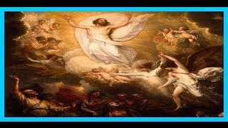 Jesus 40 day Journey on Earth after resurrection then carried up into heaven