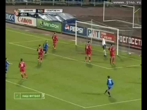 Incredible goal by Roman Monarev, FC Shinnik-Yaroslavl