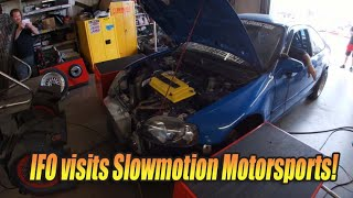 Import Face-Off visits Slowmotion Motorsports!