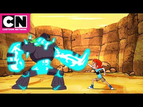 Ben 10 | Meet Ben's NEW Alien SHOCKROCK! | Cartoon Network