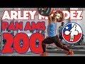 Arley Mendez Part 1/2 (140kg Snatch + 200kg C&J + 210kg Clean) - 2018 Pan Ams Training Hall [4k 60]
