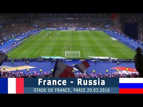 Франция - Россия 4:2 (товарищеский) 29.03.16 Обзор матча