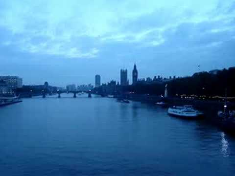 The View of London from the Golden Jubilee Bridge