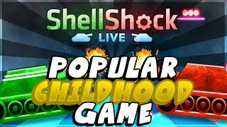 MOST POPULAR CHILDHOOD GAME!! ( Shellshock Live Battle Tanks Gameplay w/ TheCampingRusher )