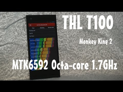 Thl T100s First Look! Mtk6592 Octa-core 1.7ghz, Dual 13mp Camera, Monkey King 2, Tinydeal video