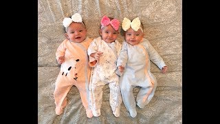 A day in the life with triplets: Vlog