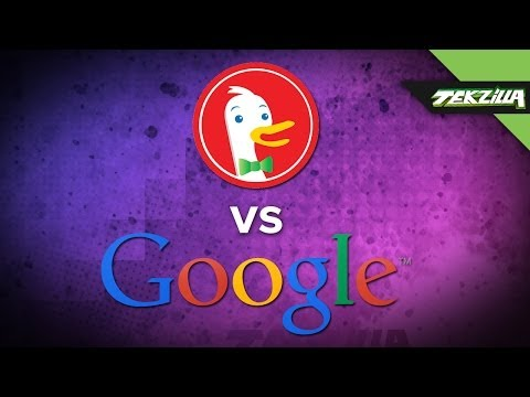 Duck Duck Go vs. Google Search