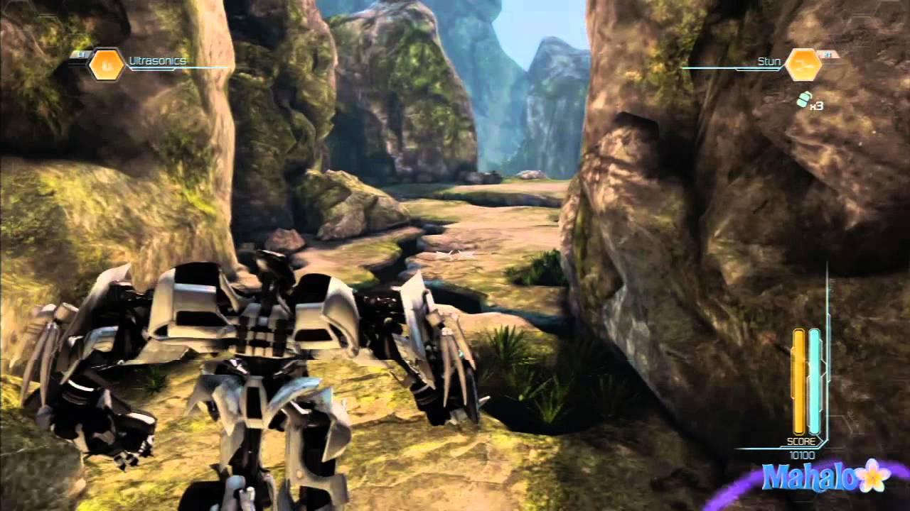Transformers dark of the moon прохождение