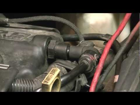 How to Replace a PCV Valve - 2000 Dodge Neon [HD]
