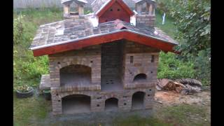 barbecue,smoke room and pizza oven - rostilj, pusnica i pica pec