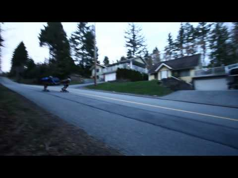 Haste longboard Session