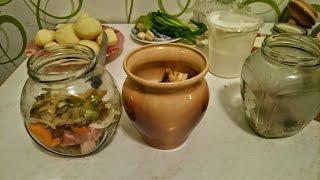 Кулинарные рецепты мясо в духовке с картофелем в горшочках как приготовить блюдо вкусно на ужин