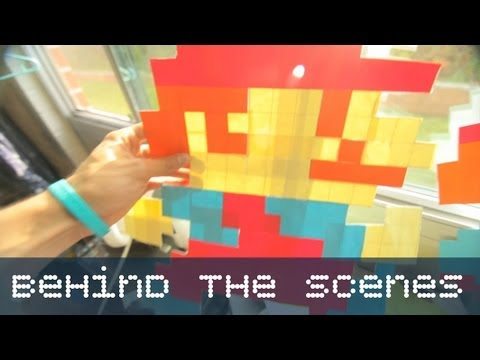 Mario Post it Notes - Behind the Scenes