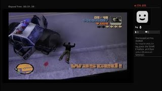 Grand Theft Auto 3 i posting it because its fun to kill people gameplay vol.737 Youtube live PS4