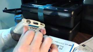 HP Officejet 8500A Premium | Setup to Power-On