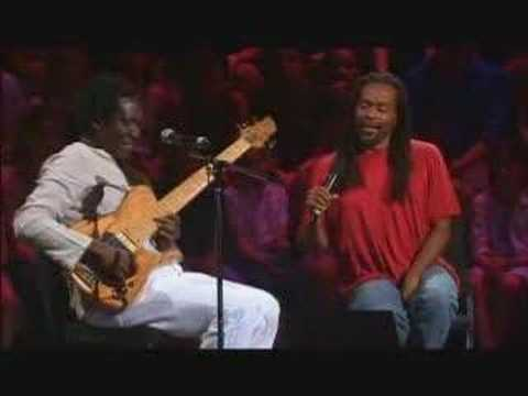 Bobby Mcferrin improvisation with Richard Bona
