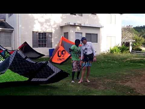 How to learn Kiteboarding-End of the day