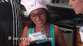 Cooking with Daughter and Daddy (Episode 2:  Peaches and Cream)