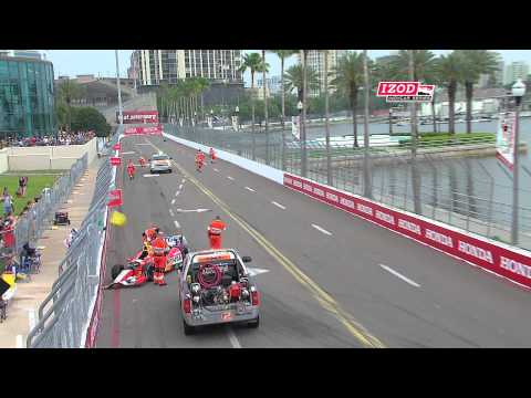 IZOD IndyCar Series Practice 3 Highlights