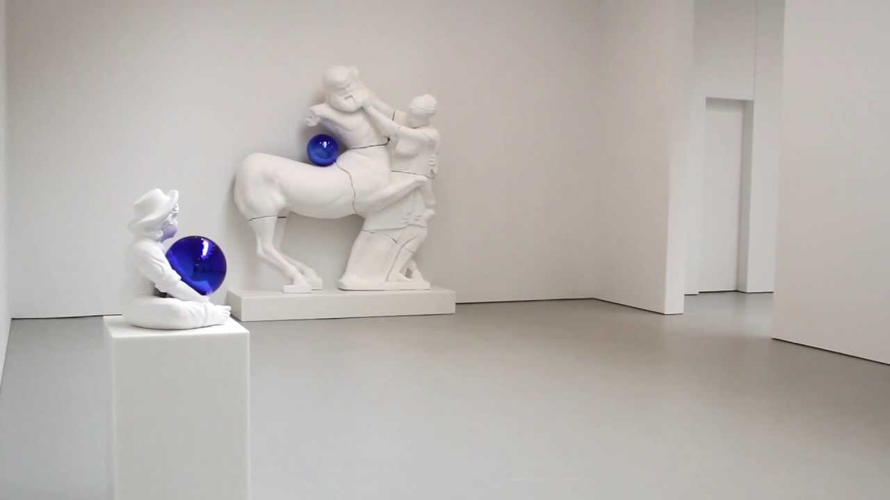 "Eye on Art: Jeff Koons ""Gazing Ball"" at David Zwirner ..."