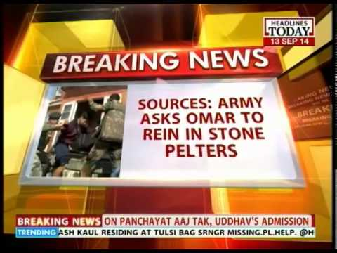 Sources: Army asks Omar to rein in stone pelters