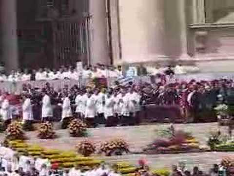 Vatican City - The Easter Mass