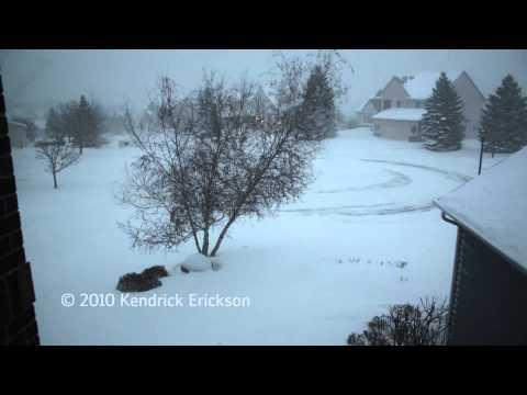 December 11, 2010 Snow Storm
