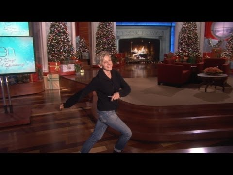 Exclusive! Ellen Gets Down in Rehearsal