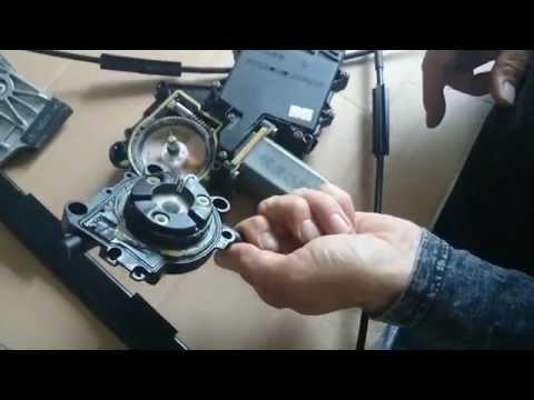 Vw Cabrio window regulator replacement/repair