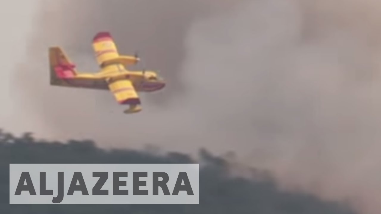 Thousands evacuated as France struggles to battle wildfires