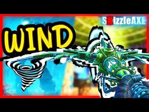 FOR DLC 5 'WIND STAFF' ORIGINS Tutorial - How To Build WIND Staff & Upgrade (Zombies Chronicles DLC5