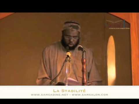 """Oustaaz Omar Sall  - """" Stabilité """" avec Oustaaz Omar Sall"""