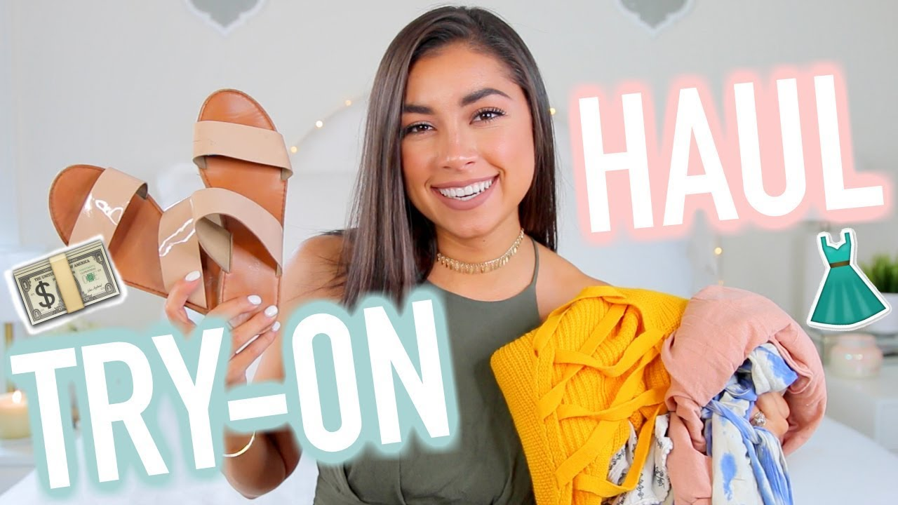 Huge Try On Haul - Nordstrom Anniversary Sale & Back To School Haul!
