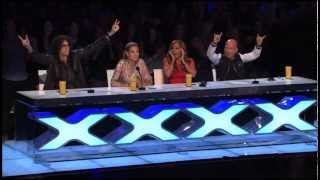 America's got talent - 6-Year-Old Aaralyn Scream Her Original Song,