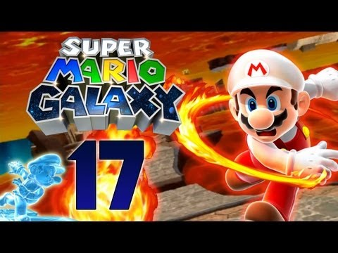 Super Mario Galaxy - Let's Play Super Mario Galaxy Part 17: Zwischen Eis und Feuer