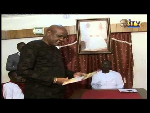 Secretary Benin traditional Council Honoured With Legendary Edo Administrative Achiever's Award