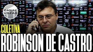 [Cearense '19] Coletiva Robinson de Castro | Pré-jogo Ceará SC X Fortaleza EC | Canal do Vozão