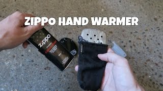 Zippo Hand Warmer Review and Temperature checks