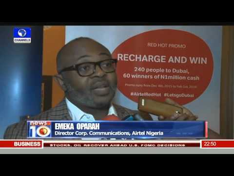 News@10: Angola Beats Nigeria In Oil Production For November Pt.4 15/12/15