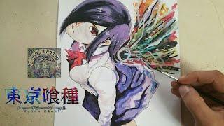 COMO DIBUJAR A TOUKA - TOKYO GHOUL / how to draw touka - tokyo ghoul